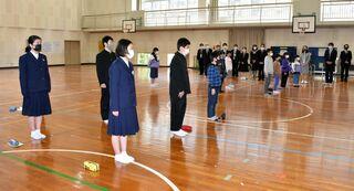 佐賀のニュース 伊万里市東山代町滝野小・中学校最後の1年、最高に