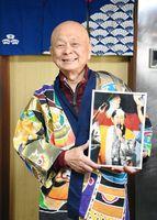 「みなさんに笑ってもらえれば」とやりがいを話す野木利昭さん