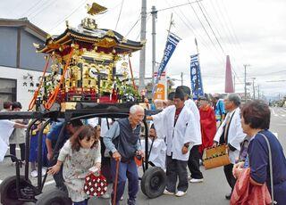 五穀豊穣願い例大祭 白石町の六角神社