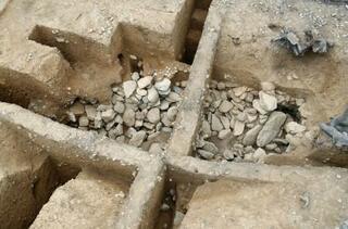 五塚原古墳に竪穴式石室、京都