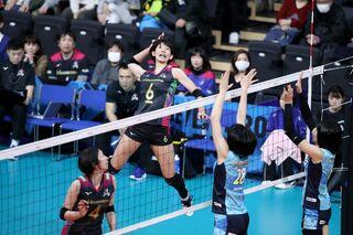 Vリーグ・久光3連覇消滅 ファイナル8敗退決定