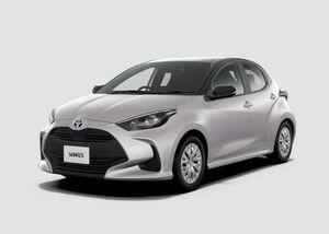 昨年12月に発表された新型車ヤリス