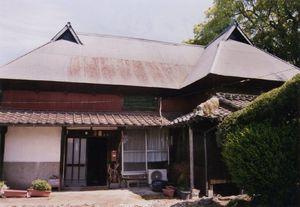 建築当初の姿をそのまま残す母屋