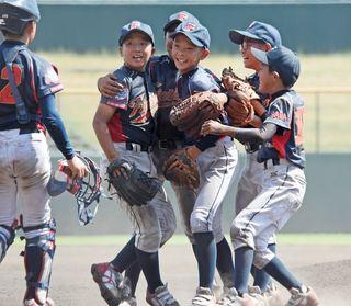 基山ファイターズ初優勝 NTT西日本杯少年野球