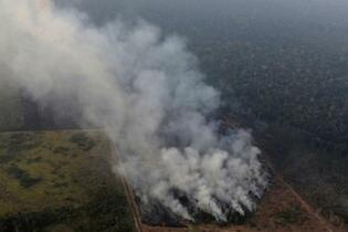 アマゾンで最大規模の火災
