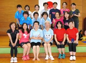 佐賀市ミニテニス大会 女子の部入賞者