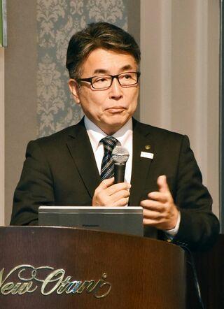 「スポーツで佐賀盛り上げ」久光製薬の吉村部長が講演