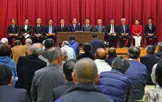 江北町議選、立候補予定の全12人ズラリ さが統一地方選