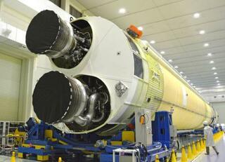 新型ロケット「H3」初公開