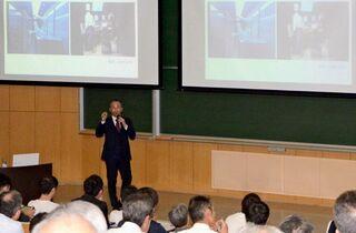 佐賀大学でキャッシュレス講演会