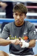 ボクシング、井上尚弥が練習再開