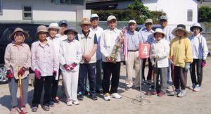 八戸溝長生会GG部第40回記念大会の参加者