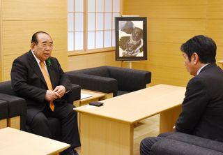 長崎県議長、副知事に「フル規格化議論を」
