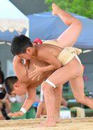 <ひびのウェブ写真館>学童五輪・相撲を公開