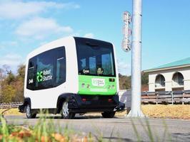 全国10カ所で無人走行バス実験