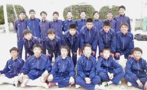 中体連で県大会出場を目指す江北中サッカー部