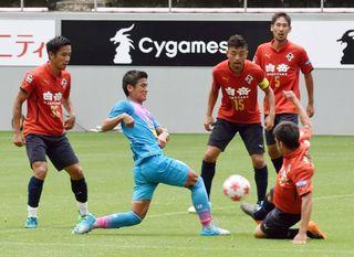 J2熊本と練習試合