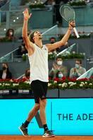 男子テニス、A・ズベレフが優勝