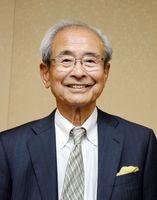 敬徳高校の前理事長、稲田繁生さん=佐賀市天神の佐賀新聞社
