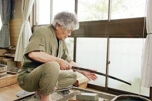 日本刀研ぎ師の今川〓靖さん