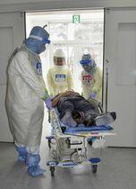 新型肺炎 患者は指定医療機関に …