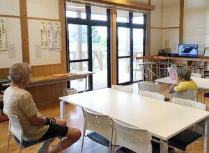 西日本豪雨で避難所になった公民館。災害への備えや早めの避難が求められている=2018年7月、佐賀市