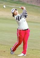 ゴルフ、鈴木愛「女王取りたい」