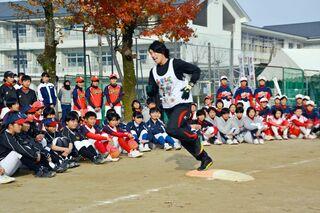 佐賀のニュース トップ選手が中学生を指導