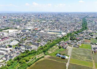 <空さんぽ 学校のある風景(29)>北陵高校周辺
