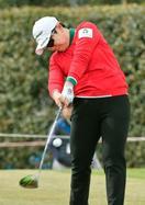 女子ゴルフ、申ジエが首位