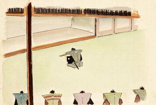 閑叟公からの手紙(20)長崎警備 将軍から栄誉の宝刀 手紙に決意示す自作和歌