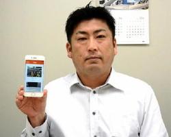 幼稚園向けアプリを開発したイデアイデルの直塚一仁社長