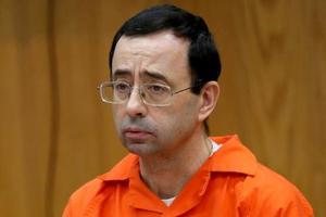 ラリー・ナサル被告=1月31日、米ミシガン州(ロイター=共同)
