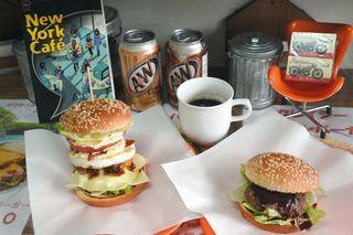 クレイジークレイジーハンバーガーの「黒毛和牛グルメバーガー」