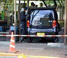 佐賀銀行本店に車突っ込む 行員に暴行容疑で神埼市の男逮捕…