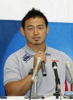 ラグビー五郎丸がヤマハ復帰会見