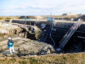 三重津景観「影響なし」 対岸の工…