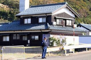 福井の住宅に親子3遺体