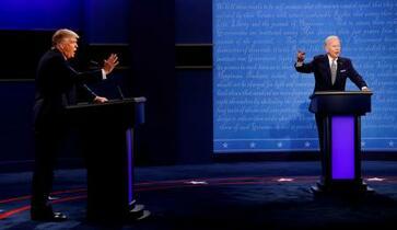 米候補者討論会にマイク消音導入