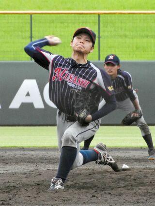 21歳原口が9K完投 第59回県アマチュア野球王座決定戦1回戦