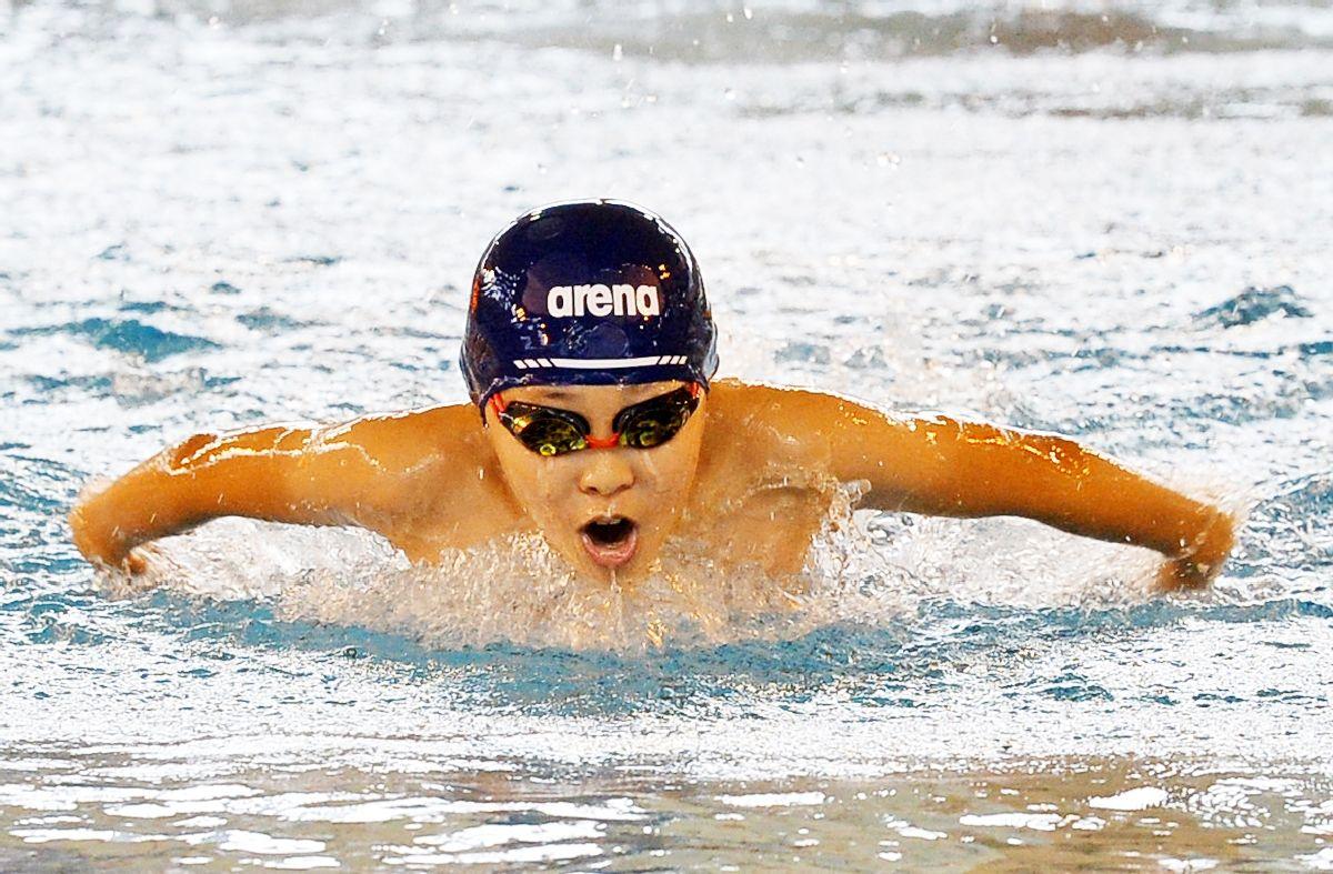 <学童五輪・水泳>16クラブ242人頂点狙う 20日、58種目で熱戦