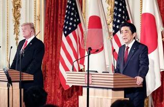 トランプ氏「TPP縛られず」