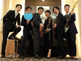 お坊さんバンド「ベレーボウズ」のメンバー(提供写真)