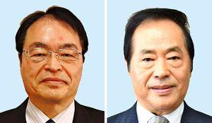 (左から)深浦弘信氏、塚部芳和氏