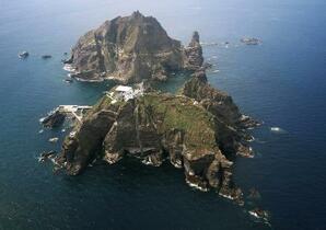 韓国が竹島防衛で合同訓練
