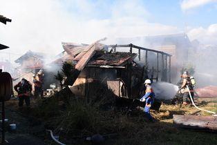 15日、上峰町で民家全焼 けが人…
