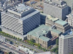 日本銀行本店=東京・日本橋本石町