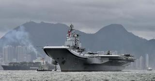 中国空母「遼寧」が西太平洋に