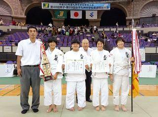 九州中学体育大会 柔道成績