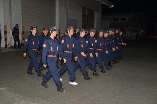 消防団へのエール 神埼市消防団